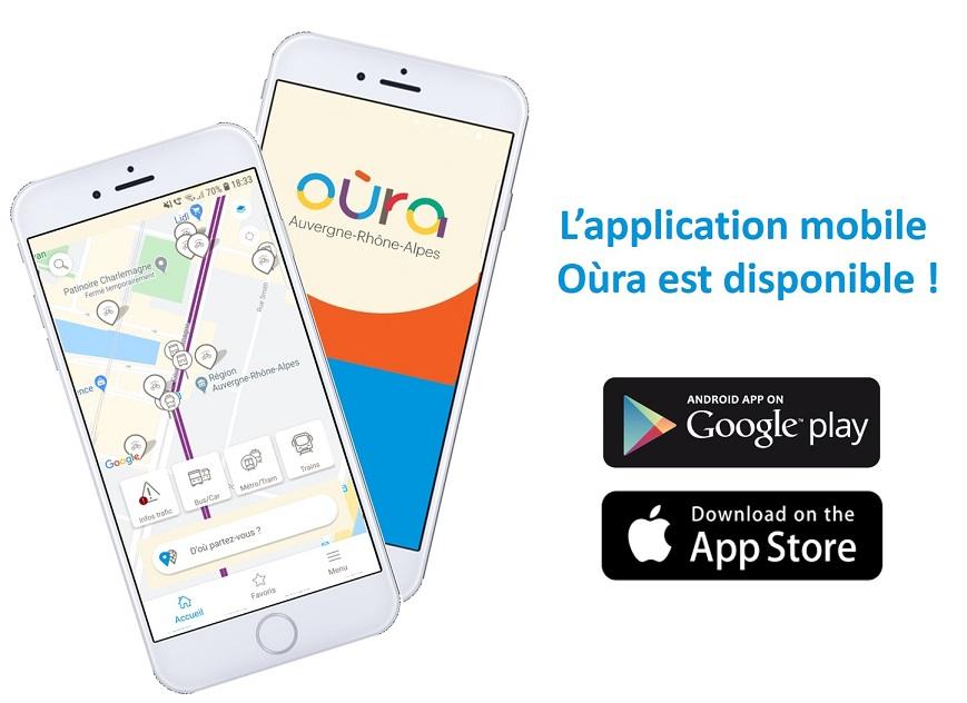 Nouveau : l'appli mobile Oùra est disponible sur vos stores !