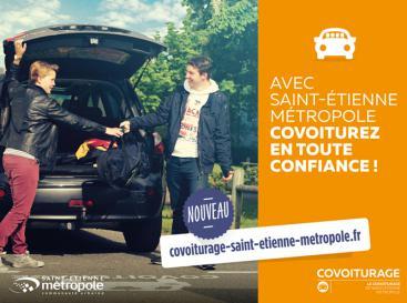 Covoiturage Saint-Etienne Métropole