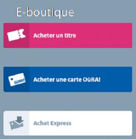 E-boutique OùRA!
