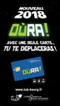 La carte OURA arrive chez TUB