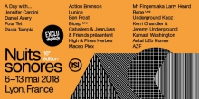 Nuits sonores 2018