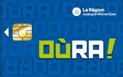 Carte OùRA! Région AURA